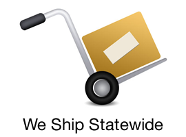 we ship statewide