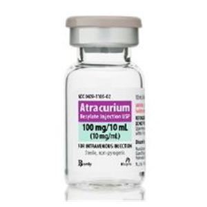 Atracurium Besylate Injection MDV 10mL 10mg/mL 10/Bx - Pfizer Injectables — 00409110502 Image