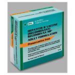 Recombivax-HB Hepatitis B Adult Injectable PFS 1mL 10/Pk - Merck Vaccines — 0006409402 Image