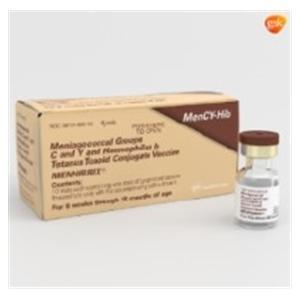 Menhibrix MenC-Y Hib TT Ped Inj SDV 5-2.5mcg N-R .5mL 10/Pk - GSK — 58160-801-11 Image