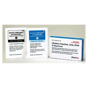 Vaxchora Cholera Vaccine _ 3/Bx - PaxVax Inc. — 70460000101 Image