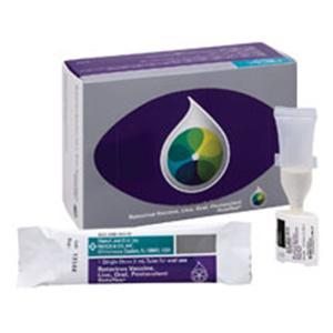 RotaTeq Rotavirus 6-32 Weeks Oral Solution Tube 2.0mL 10/Pk - Merck Vaccines — 404741 Image