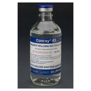 Conray Contrast Media 0.43 Injection 50mL Vial 50/Bx - Liebel-Flarsheim Co LLC — 318315 Image